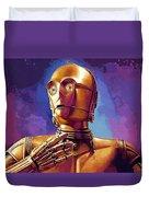 Star Wars Episode 2 Art Duvet Cover
