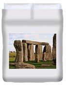 Stonehenge England United Kingdom Uk Duvet Cover