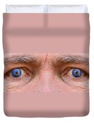 Stormy Angry Eyes Duvet Cover