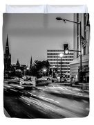 Streets Of Washington Dc Usa Duvet Cover