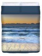 Sunrise By The Sea Duvet Cover