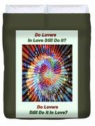 Supernova Of Love Duvet Cover