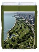 Sydney R. Marovitz Golf Course  Duvet Cover