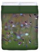 Tall Grass Stem Close-up Duvet Cover