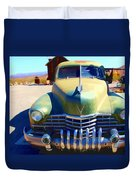 Techatticup Mine Ghost Town Nv Duvet Cover