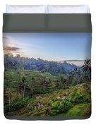 Tegalalang - Bali Duvet Cover