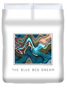 The Blue Bed Dream Duvet Cover