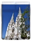 The Cathedral Of St. John The Baptist Duvet Cover