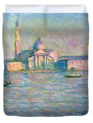 The Church Of San Giorgio Maggiore - Venice Duvet Cover