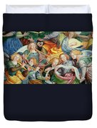 The Concert Of Angels Duvet Cover