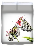 The Extraordinary Rice Paper Butterfly A Series Duvet Cover