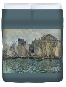 The Museum At Le Havre Duvet Cover