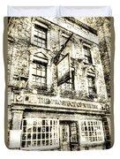 The Prospect Of Whitby Pub London Vintage Duvet Cover