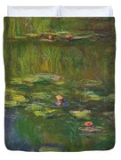 The Water Lily Pond Duvet Cover