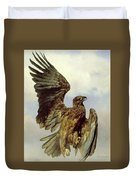 The Wounded Eagle Duvet Cover