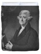Thomas Jefferson Duvet Cover