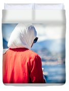 Thoughtful Women Duvet Cover