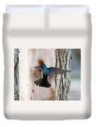 Tree Swallow Duvet Cover