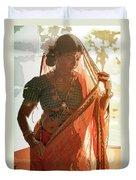Tribal Beauty Of India Duvet Cover
