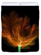 Tulips, X-ray Duvet Cover