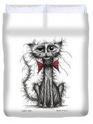 Ugly Cat Duvet Cover