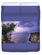 Uluwatu Temple Duvet Cover