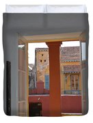 Untitled Building Duvet Cover