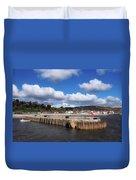 View From The Cobb - Lyme Regis Duvet Cover