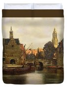 View Of Delft Duvet Cover