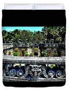 Vizcaya Museum And Gardens Duvet Cover