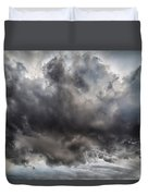 Volcanic Plumes With Poisonous Gases Duvet Cover