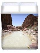 Wadi Zered Western Jordan Duvet Cover
