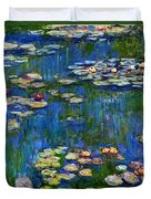 Water Lilies 1916 Duvet Cover