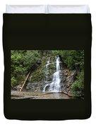 Waterfall, Quebec Duvet Cover