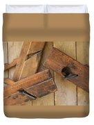 3 Wood Planes Duvet Cover