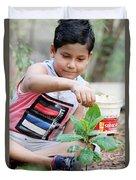 World Environment Day Duvet Cover