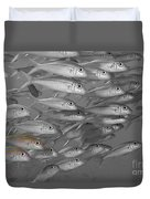 Yellowfin Goatfish Duvet Cover