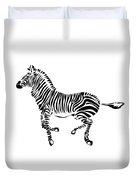 Zebra Duvet Cover