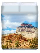 Zion Canyon National Park Utah Duvet Cover