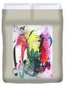 Abstract Landscape Painting Duvet Cover