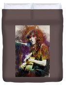 Jimmy Page. Led Zeppelin. Duvet Cover
