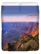 Canyon Glow Duvet Cover