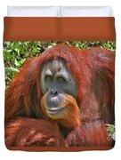 31- Orangutan Duvet Cover