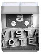 Route 66 Cars Cafes Restaurants Hotels Motels Duvet Cover