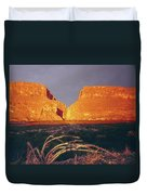 317828 Sunrise On Santa Elena Canyon  Duvet Cover