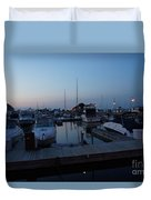 Racine Coastal Seascape - Michigan Lake In Wisconsin By Adam Asar Duvet Cover