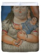 Bogota Museo Botero Duvet Cover