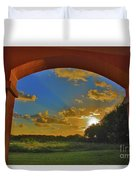 33- Window To Paradise Duvet Cover