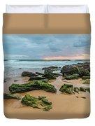 Dawn Seascape Duvet Cover