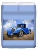 34 Dodge Pickup Duvet Cover